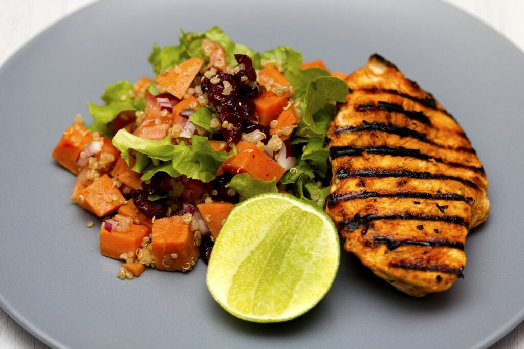 Grilled chicken can boost serotonin and ease depression symptoms